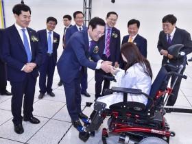 광주시, 전국 최초 '헬스케어로봇실증센터' 개관