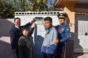 해남경찰-군청 협업, 주민과 함께 안심보안등 설치