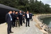 한국농어촌공사 김인식 사장, 친환경에너지보급사업 현장 방문